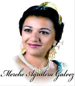 MERCHE AGUILERA GALVEZ - Fallera Mayor 2009