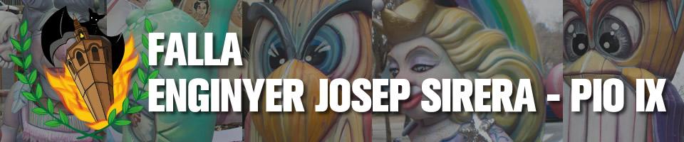 FALLA ENGINYER JOSEP SIRERA – PIO IX